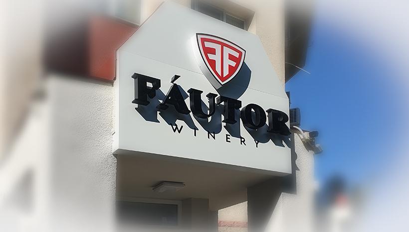 Объемные буквы Fautor
