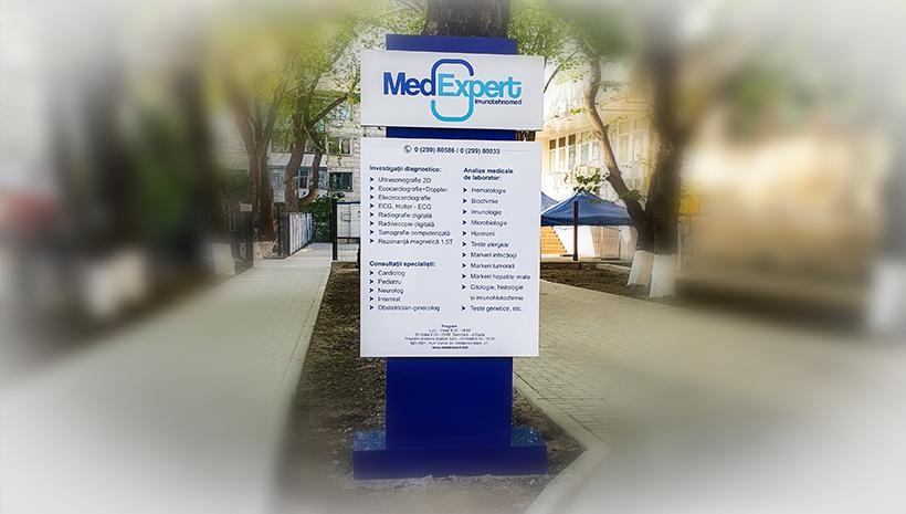 Оформление стеллы Med Expert