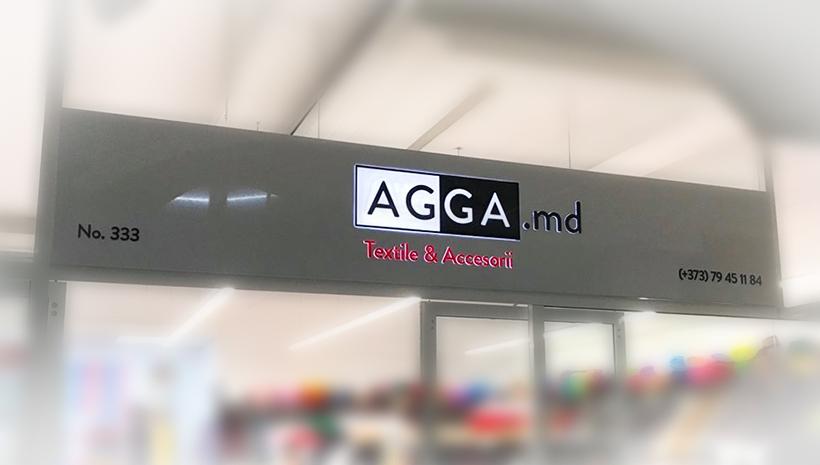 Рекламный фриз Agga.md