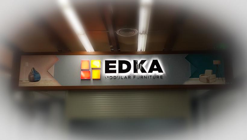 Рекламный фриз Edka