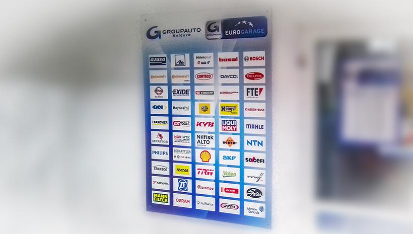 Информационный стенд Eurogarage