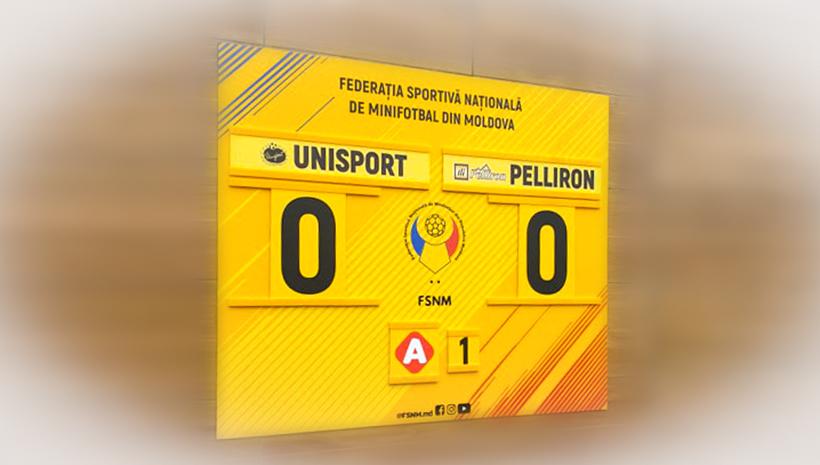 Информационный стенд Unipost и Pelliron