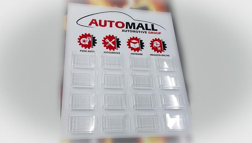Информационный стенд Automall
