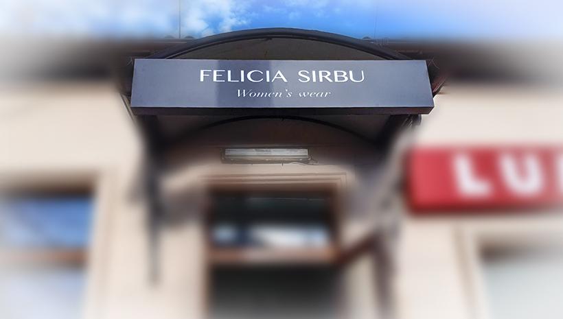 Световой короб Felicia Sirbu