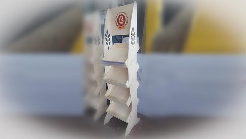 Изготовление торгового стенда Balti