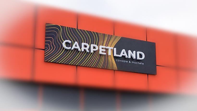 Объемные буквы Carpetland