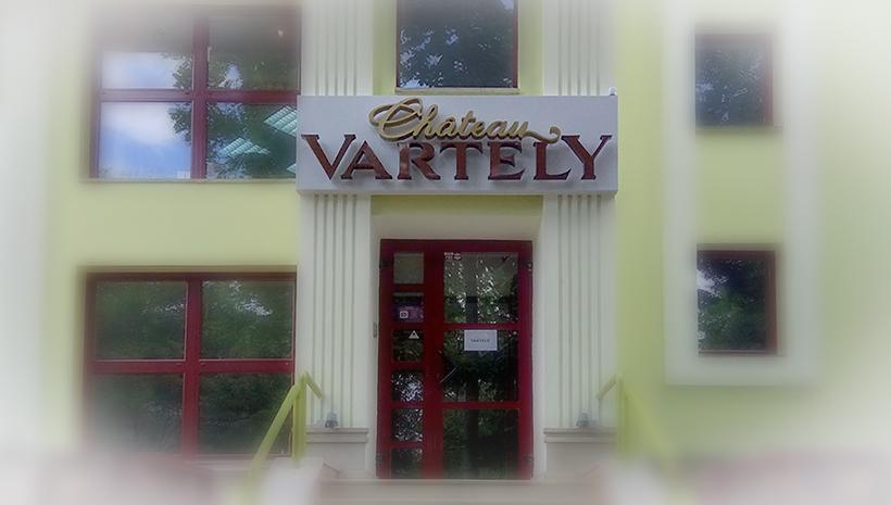 Объемные буквы Chateau Vartely