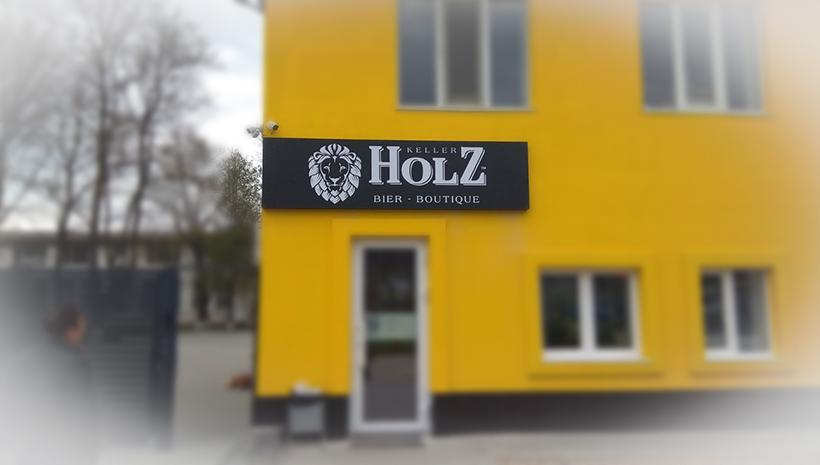 Световой короб Holz