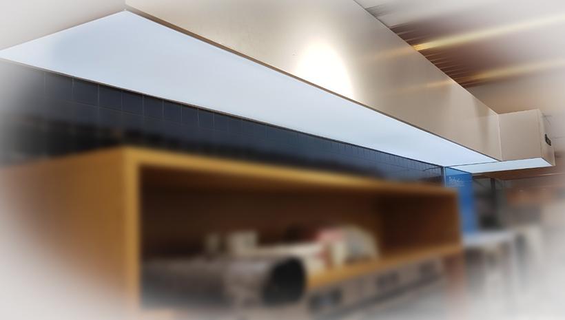 Световой короб из текстиля Bosch