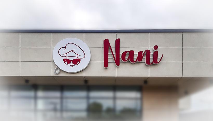 Объемные буквы Nani