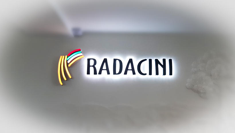 Объемные буквы Radacini