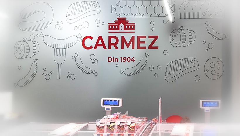 Монтаж оракала Carmez