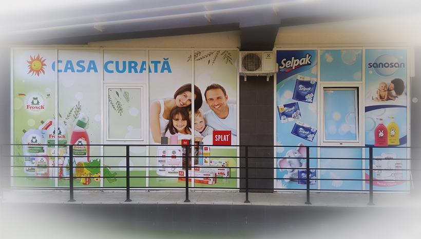 Оформление витрины Casa Curata