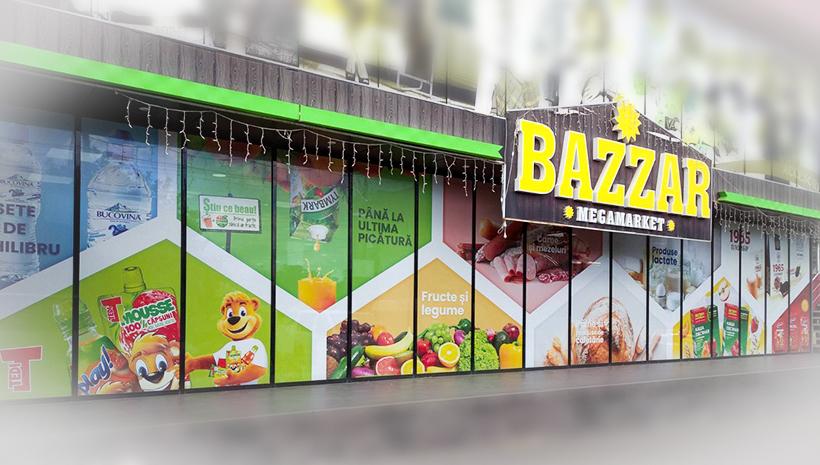 Оформление витрины Bazar